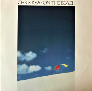 Chris Rea ‎- On The Beach (LP) (VG/VG)